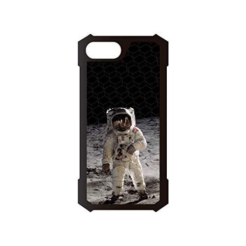 Astronauta, custodia in Kevlar, compatibile con iPhone 7, compatibile con iPhone 8, custodia in TPU ad alta protezione, antiscivolo, antiurto, anti-caduta.