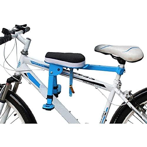 MOME Asiento de bicicleta para niños, asiento de bicicleta para niños pequeños, asiento delantero, cojín de silla de bebé, sin soldadura, más estable, firme y seguro