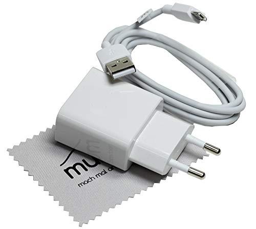 Cargador rápido para Original Huawei HW-090200EH0 2A QC + Cable Micro USB para Huawei P Smart 2019, P Smart Plus+, P Smart, Y7 2018, Y6 2018, Y5 2018, Honor 8X con mungoo pantalla paño de limpieza