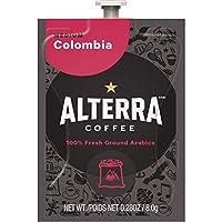 Mar 's Drink北アメリカコロンビアAlterra med/Balancedコーヒー、100/CT、BK