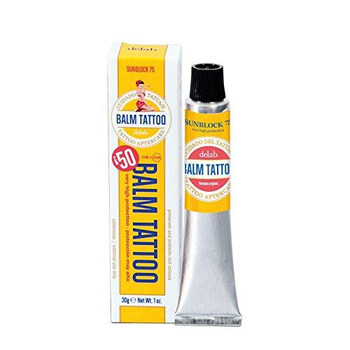 Balm Tattoo Sunblock 75 Tattoo-Pflege – Tattoocreme mit Sonnenschutz (LSF 75), 30g