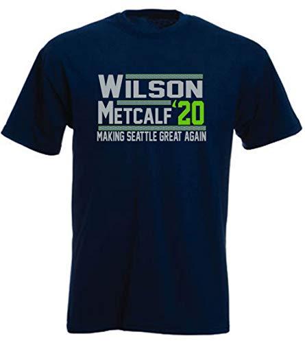 Navy Seattle Wilson Metcalf 2020 T-Shirt Adult