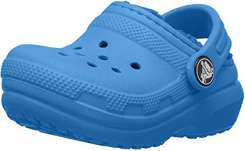 Crocs Classic Lined Clog Bright Cobalt, 11 M US Little Kid