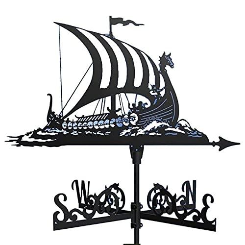 YZJYB Banderuola Barca A Vela Segna Vento Acciaio Inossidabile Wind Vane Segnavento Indicatore di Direzione del Vento per La Decorazione del Paddock del Tetto del Giardino Esterno,Animal c