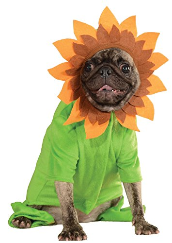Rubie's Pet Costume, Medium, Sunflower