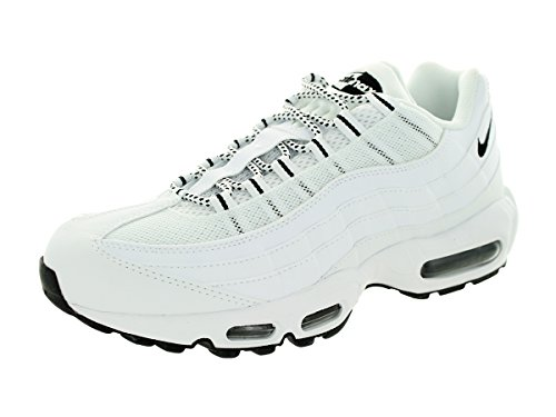 Nike Air MAX 95, Zapatillas de Running para Hombre, Blanco/Negro (White/Black-Black), 43 EU