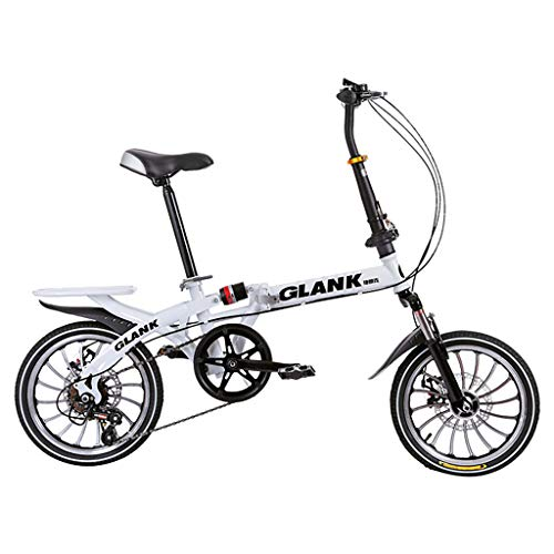 Best Prices! Sunnyadrain 20 Inch Lightweight Mini Folding Bike Small Portable Bicycle Adult Student ...