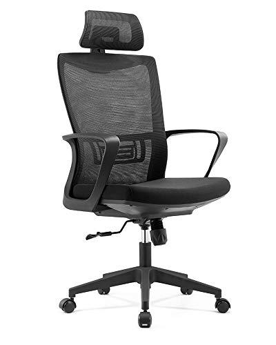 Cadeira Presidente Executiva Ergonômica Nápoles preta Conforsit 4991