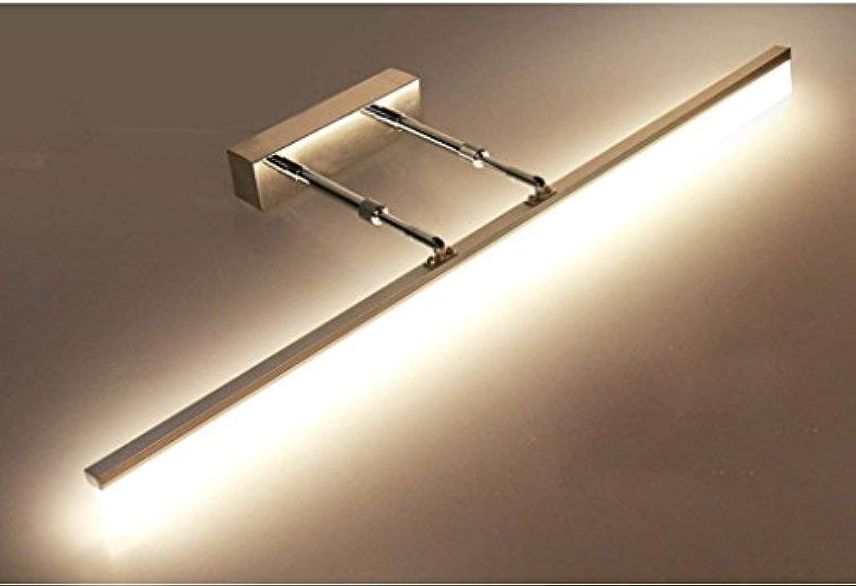QAZ Badezimmerspiegel Badezimmerspiegel Beleuchtung LED-Leuchten, Ausziehbare Arme Schaltschrankleuchten wasserdichte Nebelscheinwerfer (Farbe  warmes Licht-8w 40 cm)