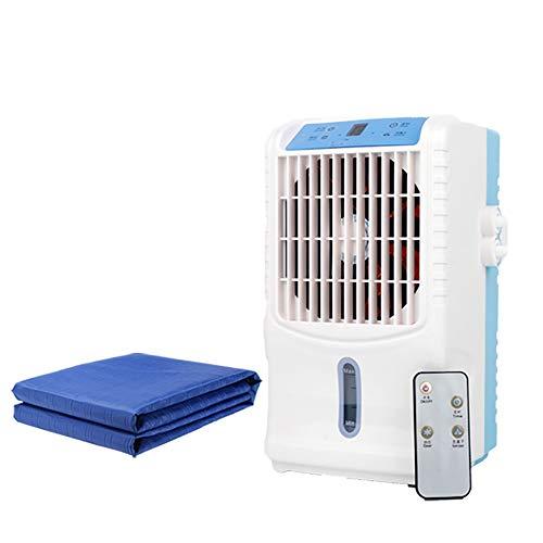 ALCST&CX Auto Refrigerante Las Colchonetas De Enfriamiento Plegables Multifuncionales De Verano con Enfriadores, ColchóN FrigoríFico con Ventilador De Aire Acondicionad, 160x70cm