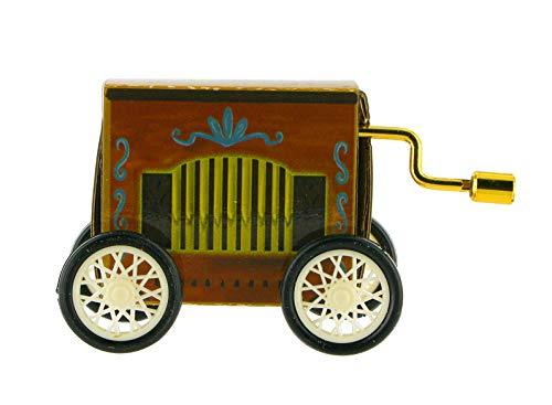 Lutèce Créations Boîte à Musique à manivelle en Carton décoré en Forme d'orgue de Barbarie (Réf: 6354502) - Boléro (Maurice Ravel)