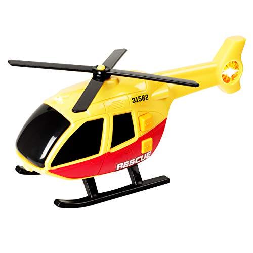Teamsterz- Helicóptero de Juguete (HTI 1416560)