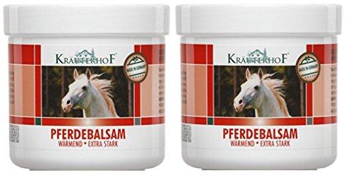 Kräuterhof Pferdebalsam extra stark 250 ml 2er Pack ( 2 x 250 ml = 500 ml)