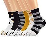 Tuopuda Calcetines Mujer Invierno,Garras de gato de Calcetines gruesos y cálidos para dormir calcetines de felpa calcetines de coral para mujeres niñas de Navidad (Algodón-6 pares)