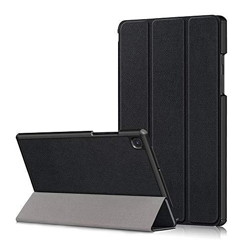 SDTEK Tablet Hülle Für Samsung Galaxy Tab A7 (2020) 10.4 SM-T500 T505 Smart Cover Stand Folding Slim Lightweight (Schwarz)