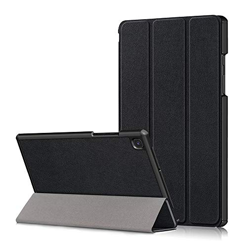 SDTEK Tablet Case for Samsung Galaxy Tab A7 (2020) 10.4 SM-T500 T505 Smart Cover Stand Folding Slim Lightweight (Black)