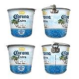 Corona Extra Metal Bucket with Bottle Opener