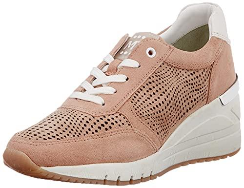 Marco Tozzi 2-2-23790-36 Leder Sneaker, Zapatillas Mujer, Rose Combi, 41 EU
