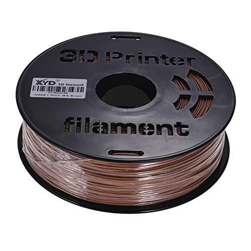 Sunydog Rifornimento del filamento del materiale da stampa del filamento 1.75mm di legno della stampante 3D 1KG / Spool per la stampatrice 3D