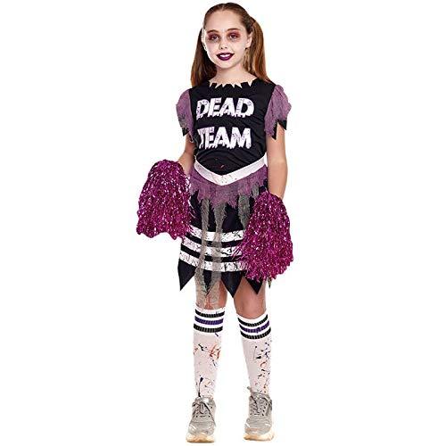 Disfraz Animadora Zombie Niña (10-12 años) Halloween (+ Tallas)