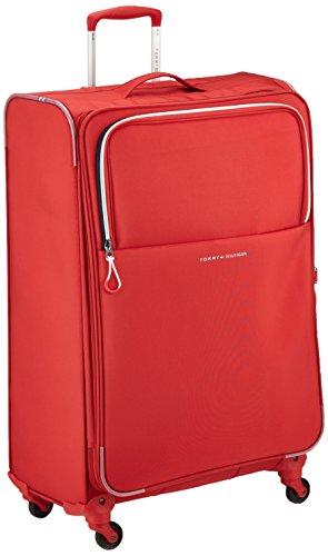 Tommy Hilfiger New Port Laptop Rollkoffer, 90 Liter, Rot