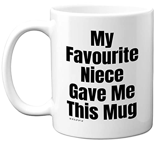 Auntie Uncle Gifts from Niece, Uncle Auntie Mug 11oz Ceramic Coffee Mugs...
