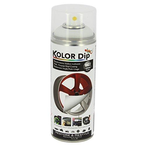 Kolor Dip KD11002 Pintura en Spray con Vinilo Líquido Extraible, Blanco