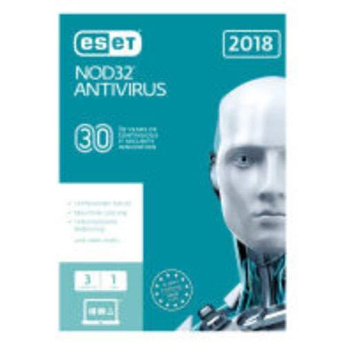 ESET NOD32 Antivirus 2019 1 PC/WIN 1 Jahr | Aktivierungscode per E-Mail & Post | Download | FFP | ESD-Software by MBS-FIRE®
