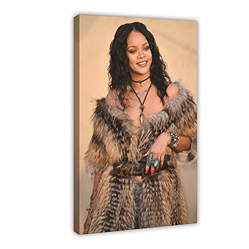 Rihanna - Barbados - Póster de Rihanna Greatest Hits - Póster de cantante 42 - Cuadro para decoración de pared (60 x 90 cm)
