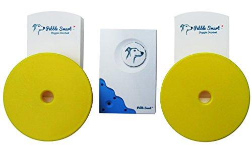 Pebble Smart Doggie Doorbell - Twin-Pack - Blue Accent