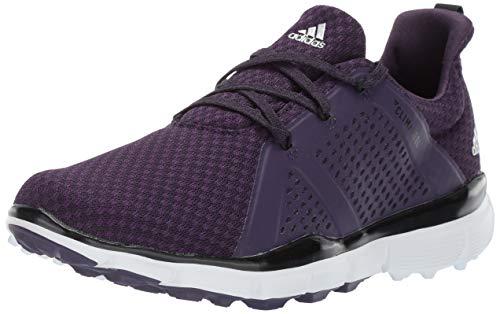 adidas Women's Climacool CAGE Golf Shoe, Legend Purple/core Black/Silver Metallic, 10 M US