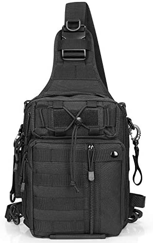G4Free Fishing Tackle Backpack Tactical Sling Bag Water Resistant Fishing Backpack with Rod product image