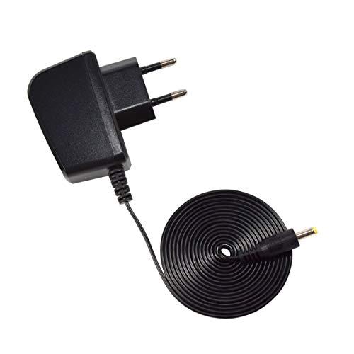 HQRP Adaptador de CA para Omron M3 IT, HEM-7131U-E, M6 AC, HEM-7322-E Tensiómetro electrónico