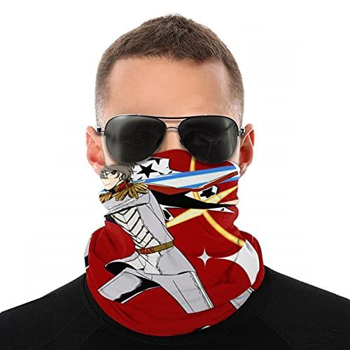 Ge-nshin I-mpact - Máscara de dragón unisex para pasamontañas con tacto de la piel, protección UV, protección contra polvo, polaina para el cuello al aire libre, correr, pesca