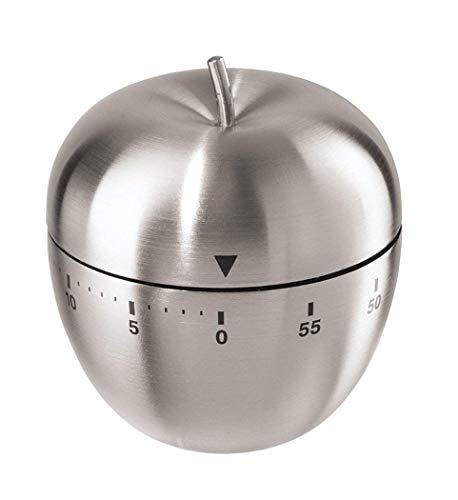 MHOYI Manual del Temporizador de la Cocina, Alarma giratoria mecánica formada con la Alarma ruidosa para cocinar la Oficina de los Juegos de los Deportes de la hornada (Manzana)
