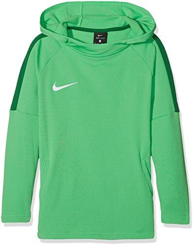 Nike Jungen Dry Academy18 Football Hoodie Pullover,Grün (Light Green Spark/Pine Green/Pine Green/Wh), XL