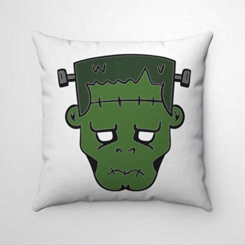 EricauBird Frankenstein's Devil - Funda de almohada para Halloween, diseño de Frankenstein