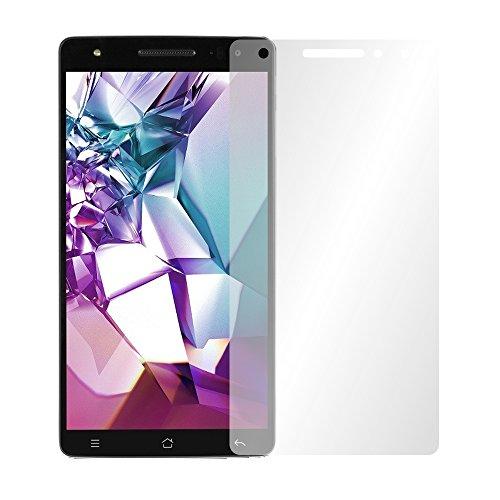 Slabo 2 x Bildschirmfolie für Medion Life X6001 Bildschirmschutzfolie Zubehör Crystal Clear KLAR