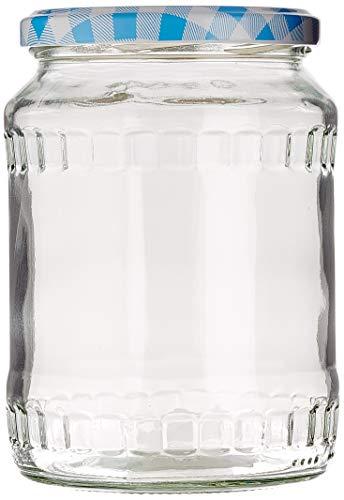 Weck Glass mit Schraubdeckel 770 ml 59070, 12 Stück