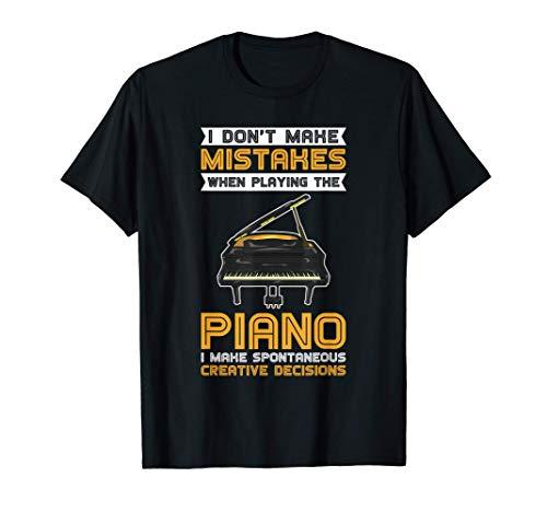 No Cometo Errores Cuando Toco El Piano Camiseta