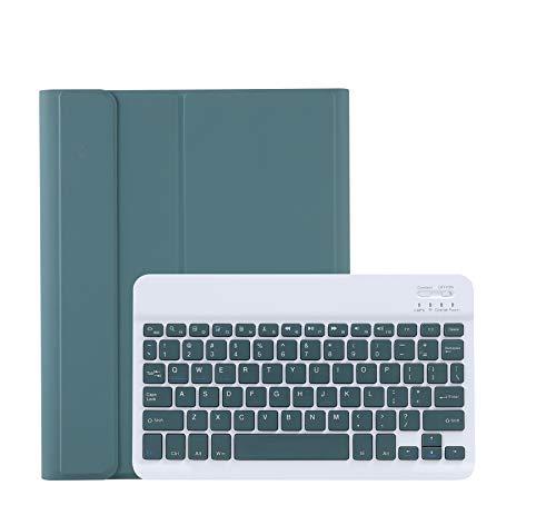 人気 2020年型 iPad 10.2キーボードケース 第8世代 第7世代 Apple Pencil収納可能 ワイヤレスBluetooth キーボード 分離式 iPad 7 iPad8ケース 超軽量 手帳型 可愛い お洒落 脱着式 キーボード スタンド機能