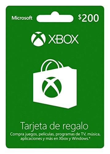 Tarjeta Xbox Live $200 MXN – Xbox One Standard Edition