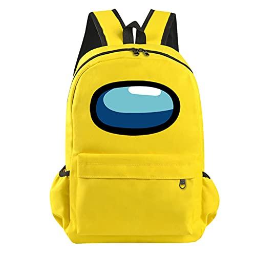 Travel Backpack for Men, Kids Backpack for Boys Fashionable School Bag for Kid Gift (Yellow)