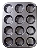 Best Nonstick Muffin Pans - 12 Cups Muffin and Cupcake Pan, Nonstick Brownie Review