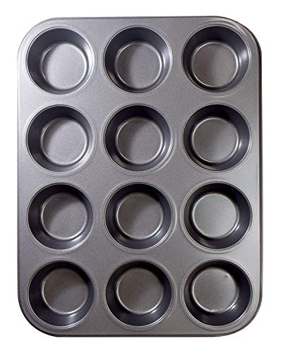 12 Cups Muffin and Cupcake Pan, Nonstick