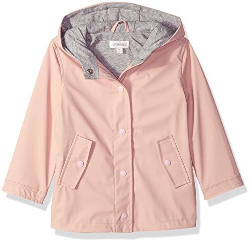 Gymboree Girls' Big Long Sleeve Woven Hodded Jacket, Pink Blossom, 3T