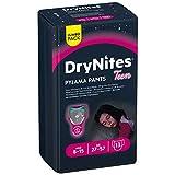 Huggies DryNites hochabsorbierende Pyjamahosen Unterhosen für Mädchen Jumbo Monatspackung, 8-15 Jahre (52 Stück) - 4