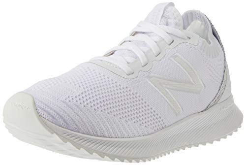 New Balance Men's FuelCell Echo V1 Running Shoe, White/White, 10.5 Wide