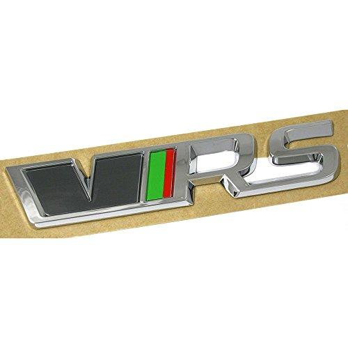 Skoda 5E0853687FBTK Emblem RS Schriftzug VRS hinten Tuning Emblem Logo Heckklappe