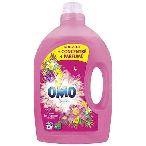 Omo Bead Blumen Duft Tropen und Magnolia Familien Format 2L (Lot von 2)